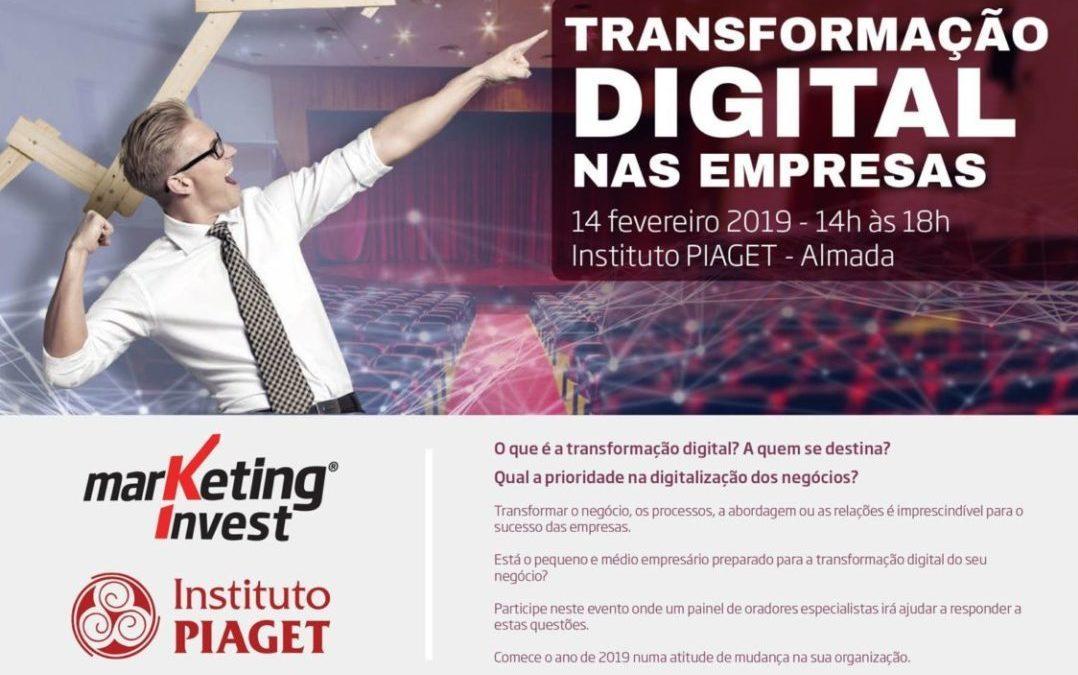Evento «Transformação Digital nas Empresas»
