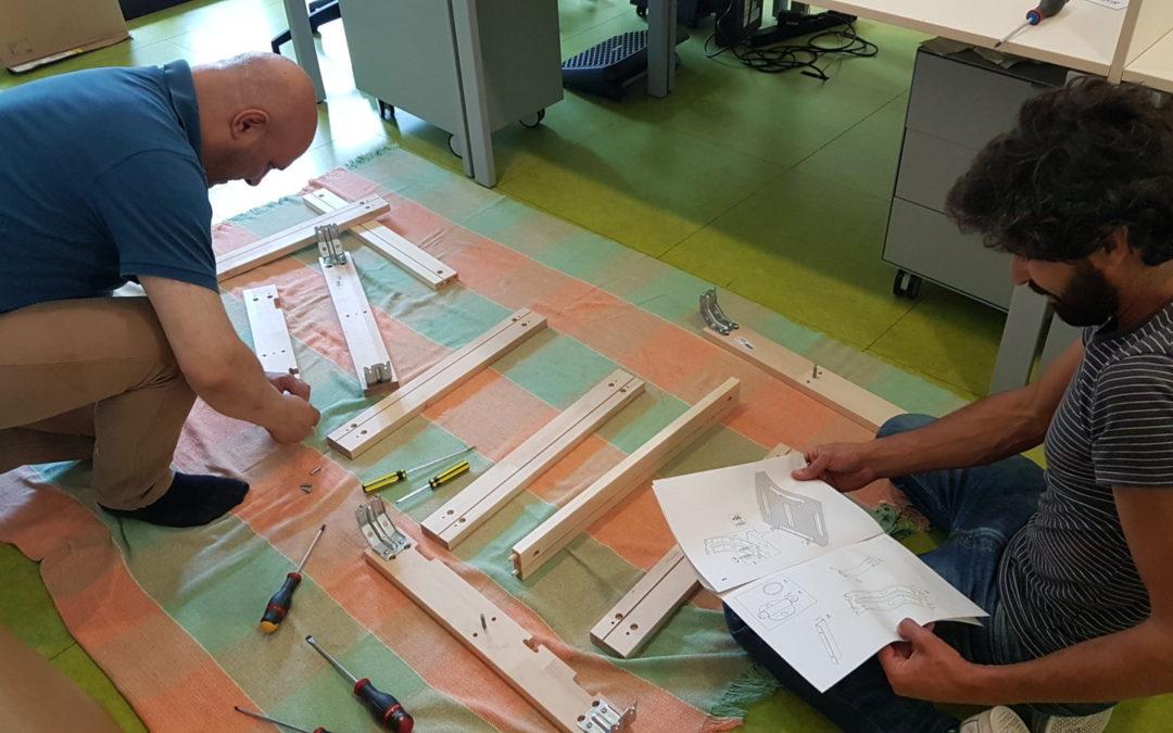 Planeamento | Trabalho Cooperativo | Construção | NOMAD Space#2